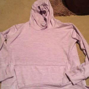 Athleta girl light purple hoodie
